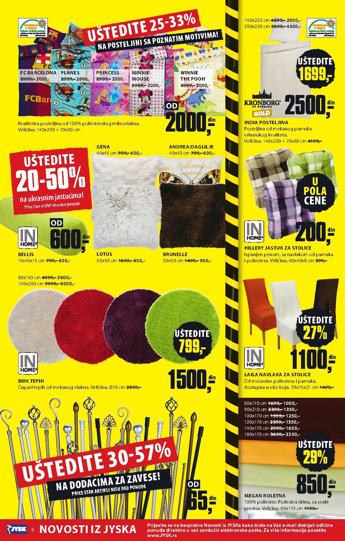 JYSK katalog odličnih cena za vas