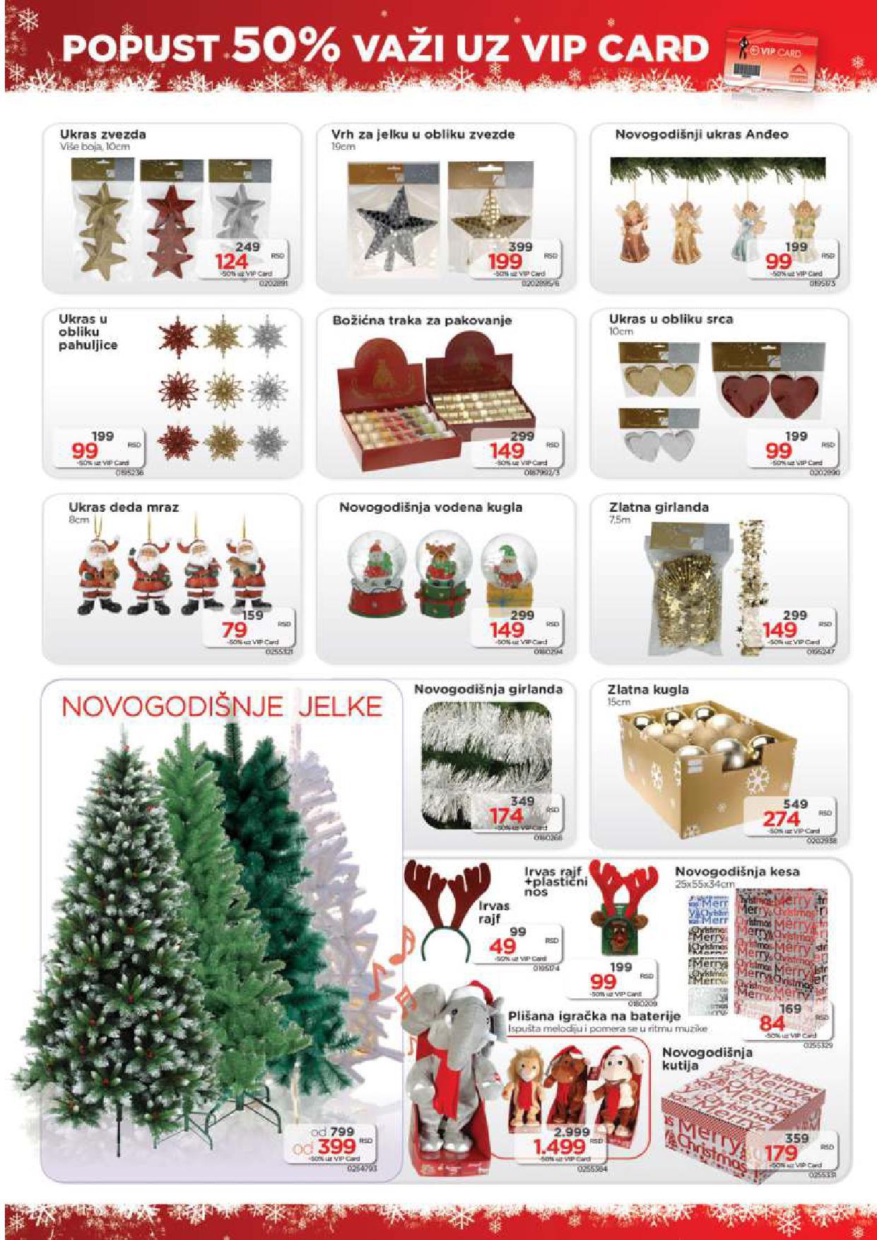 Home Centar katalog novogodišnjih popusta