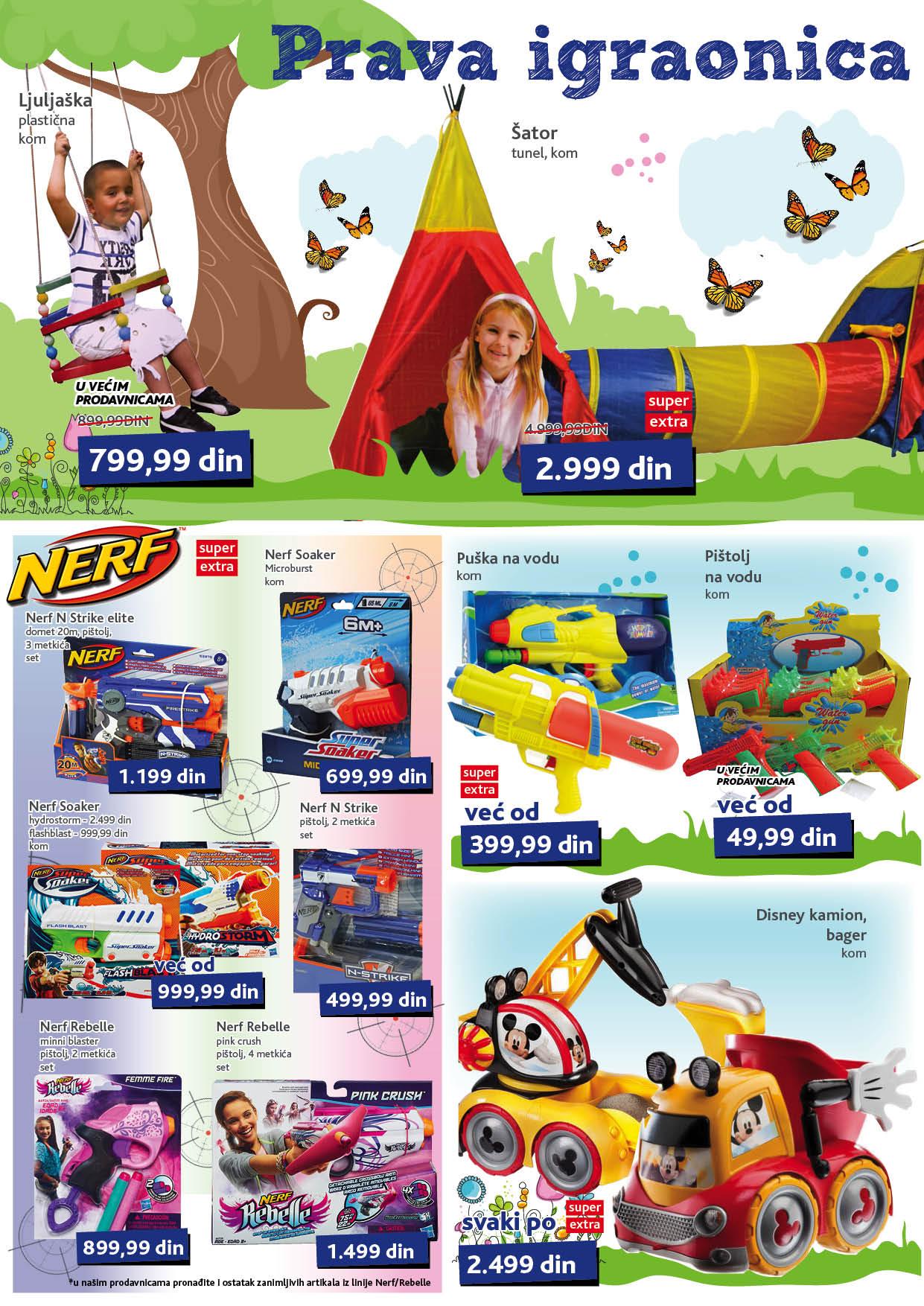 Idea akcija super ponuda igračaka