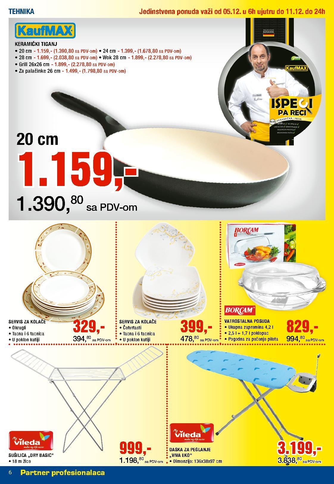 Metro katalog nedelja super  cena neprehrane