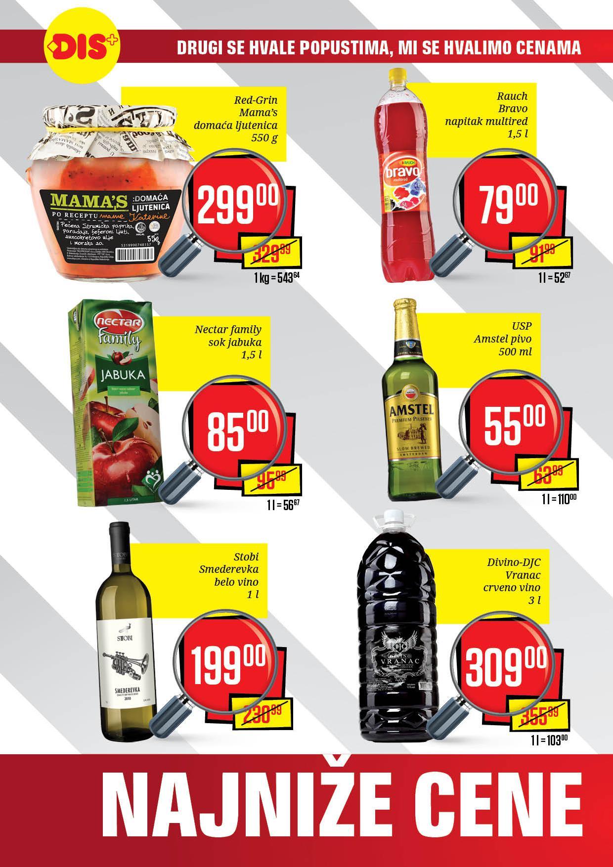 Dis katalog spremne su najniže cene u Beogradu