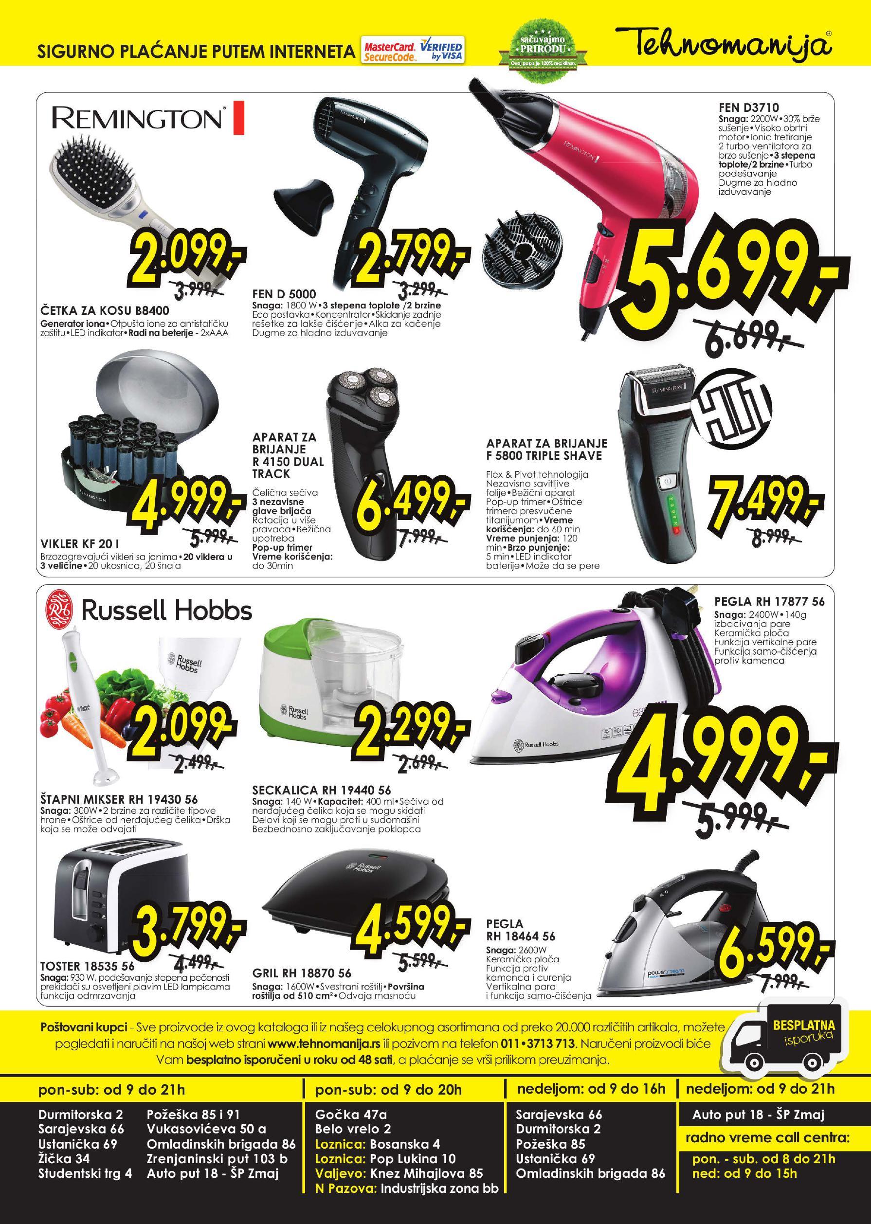 Tehnomanija katalog mali kućni aparati za vas