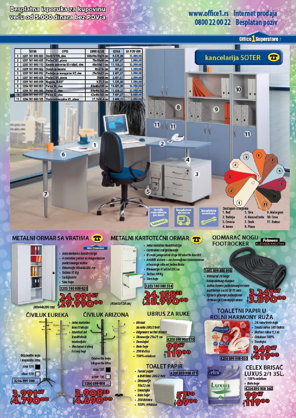 Office 1 super store katalog sve za vašu kancelariju