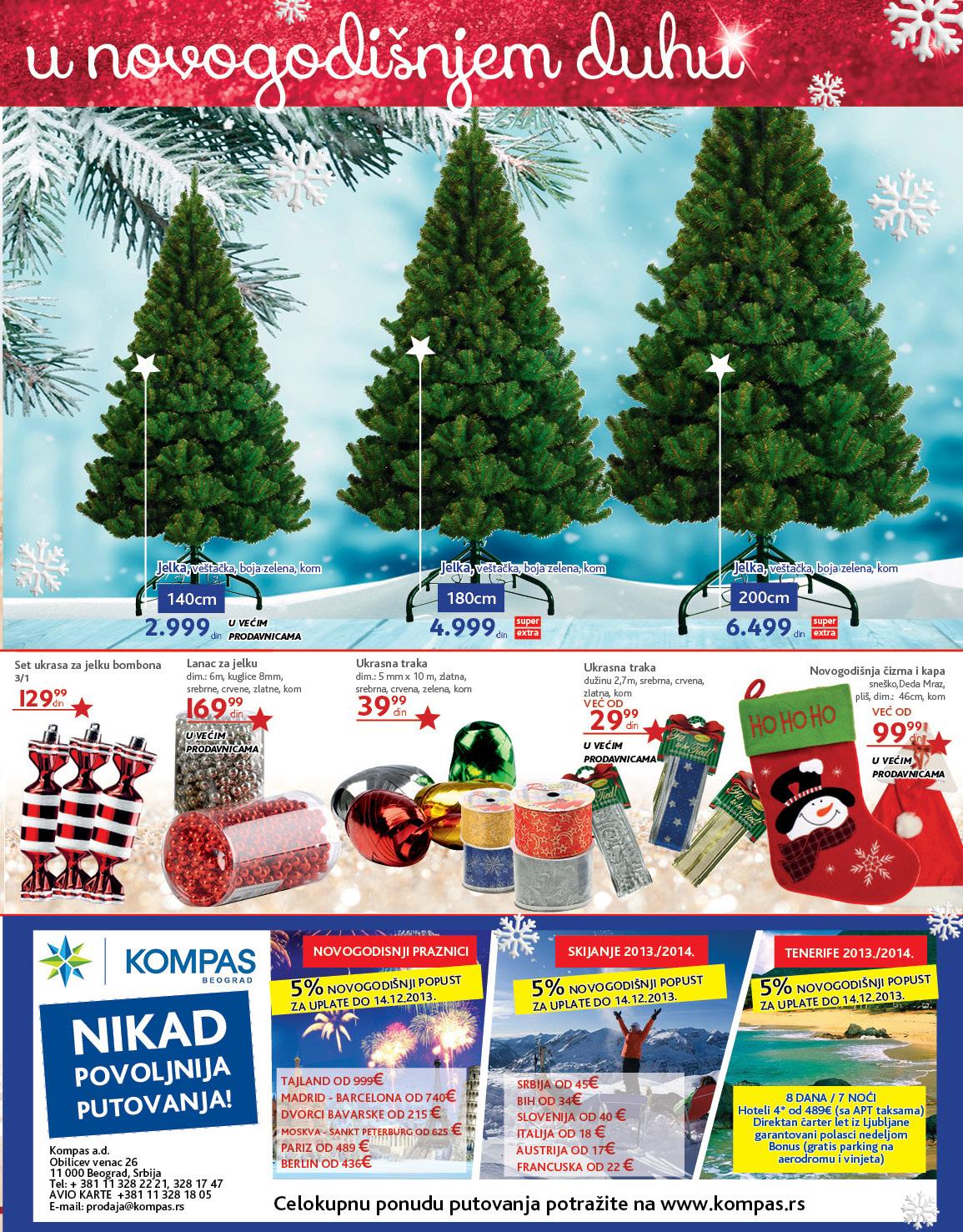 Idea katalog novogodišnja K plus ponuda