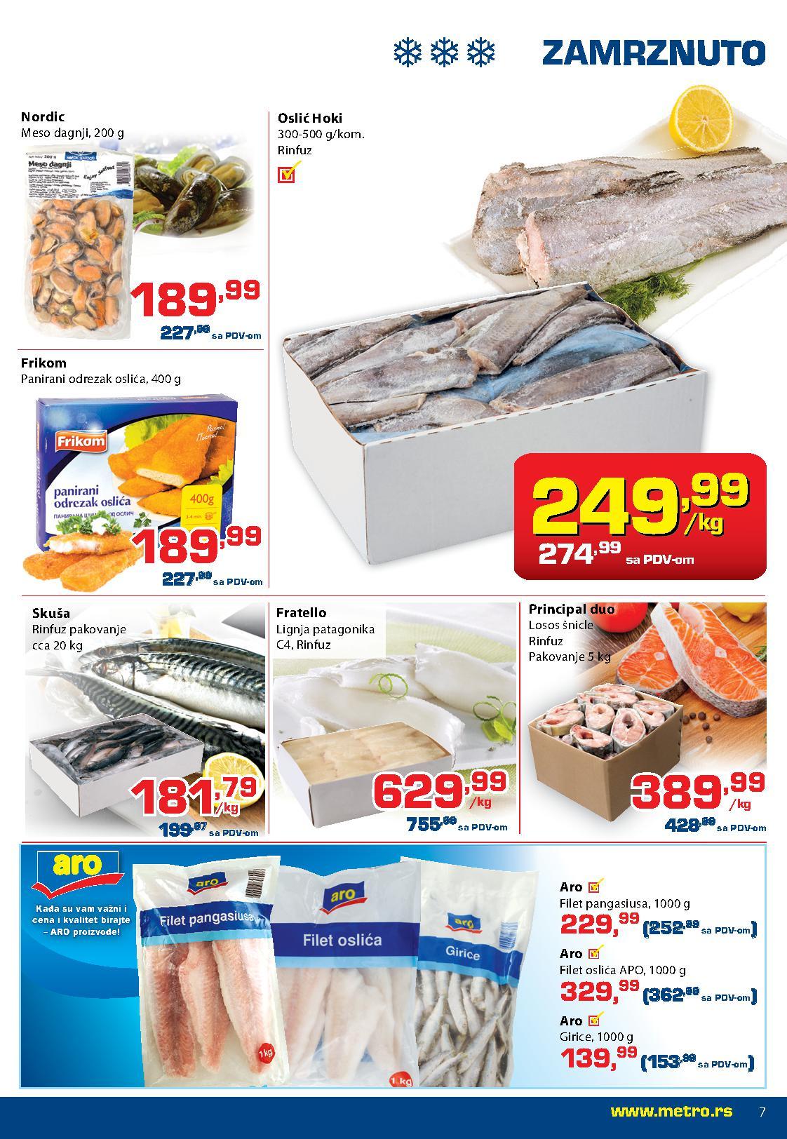 Metro katalog super ponuda prehrane za vas
