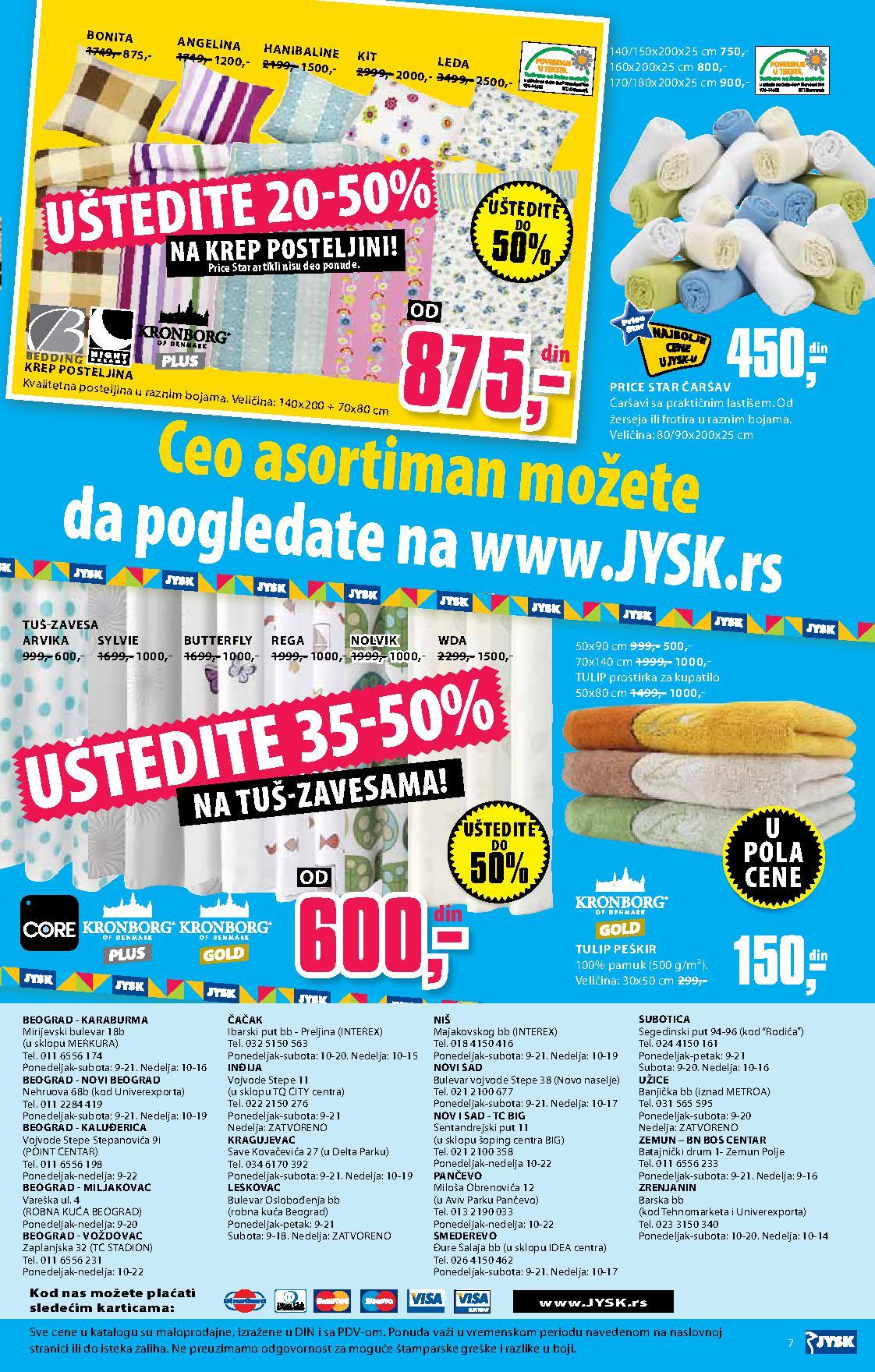 JYSK katalog super cena