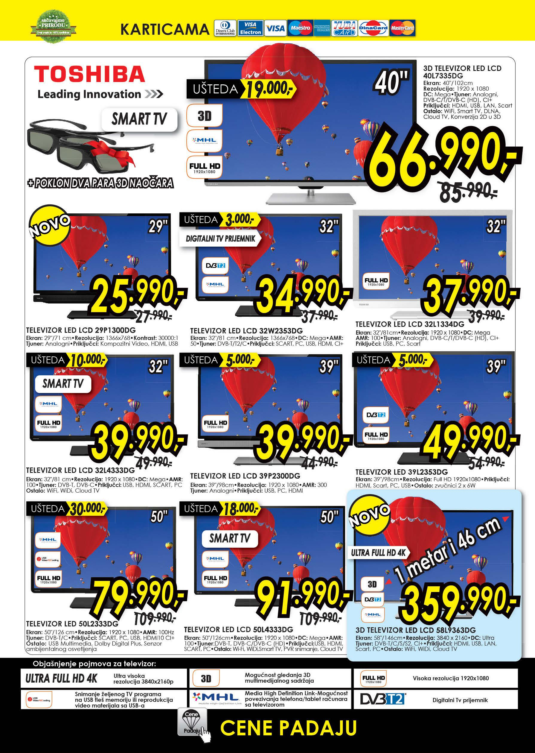 Tehnomanija akcija super ponuda TV uređaja