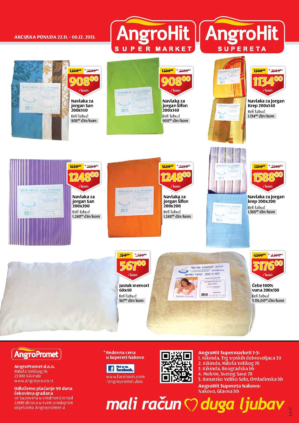 Angropromet katalog super ponude