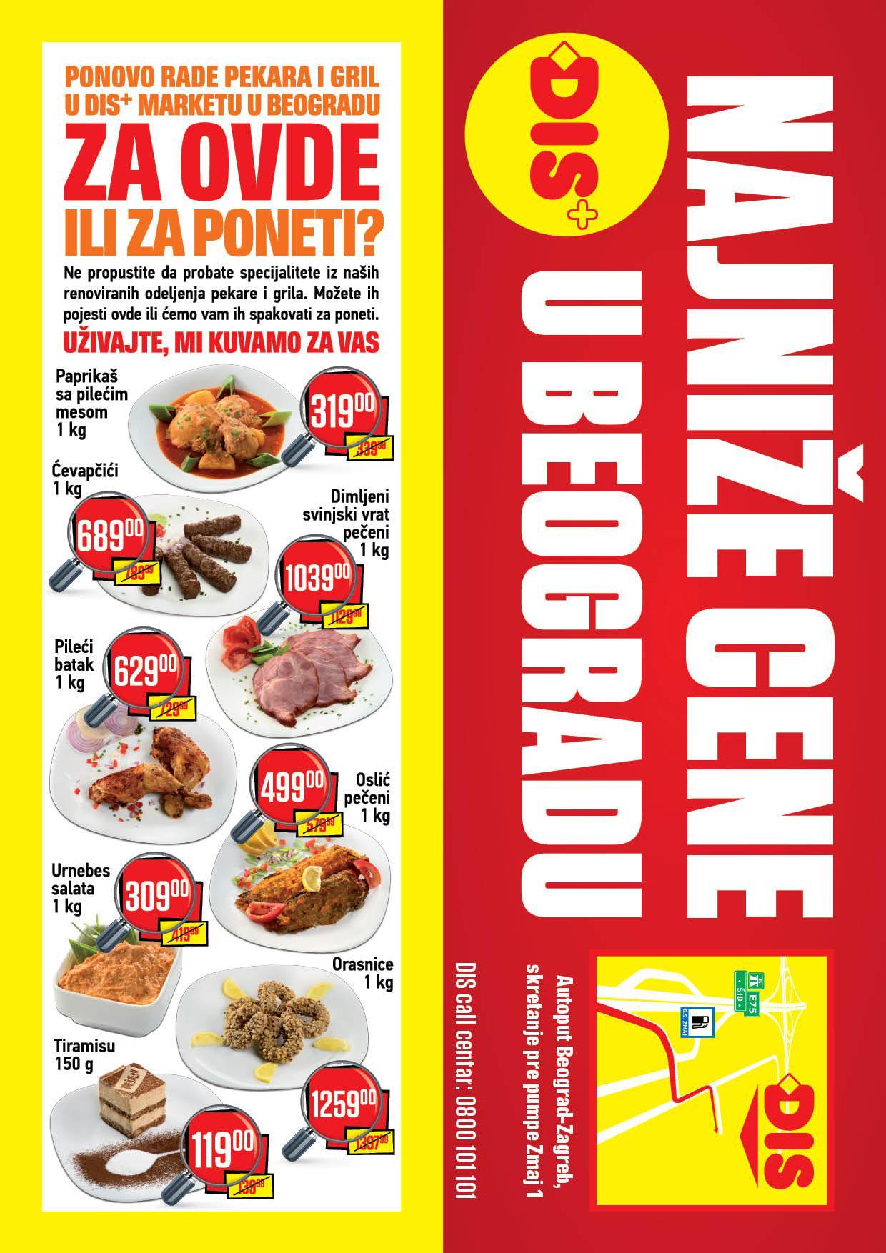 Dis katalog najniže cene u Beogradu