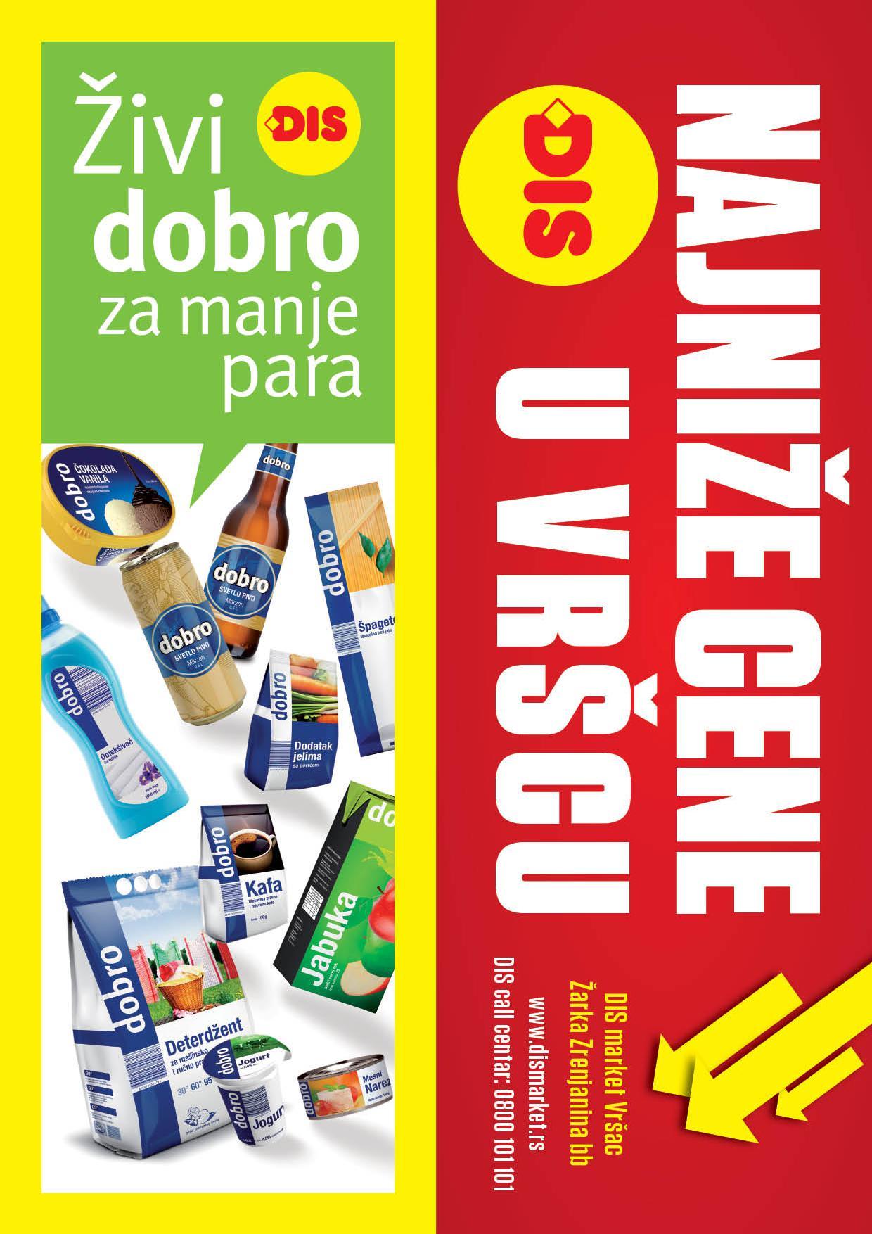 Dis katalog najniže cene u Vršcu!