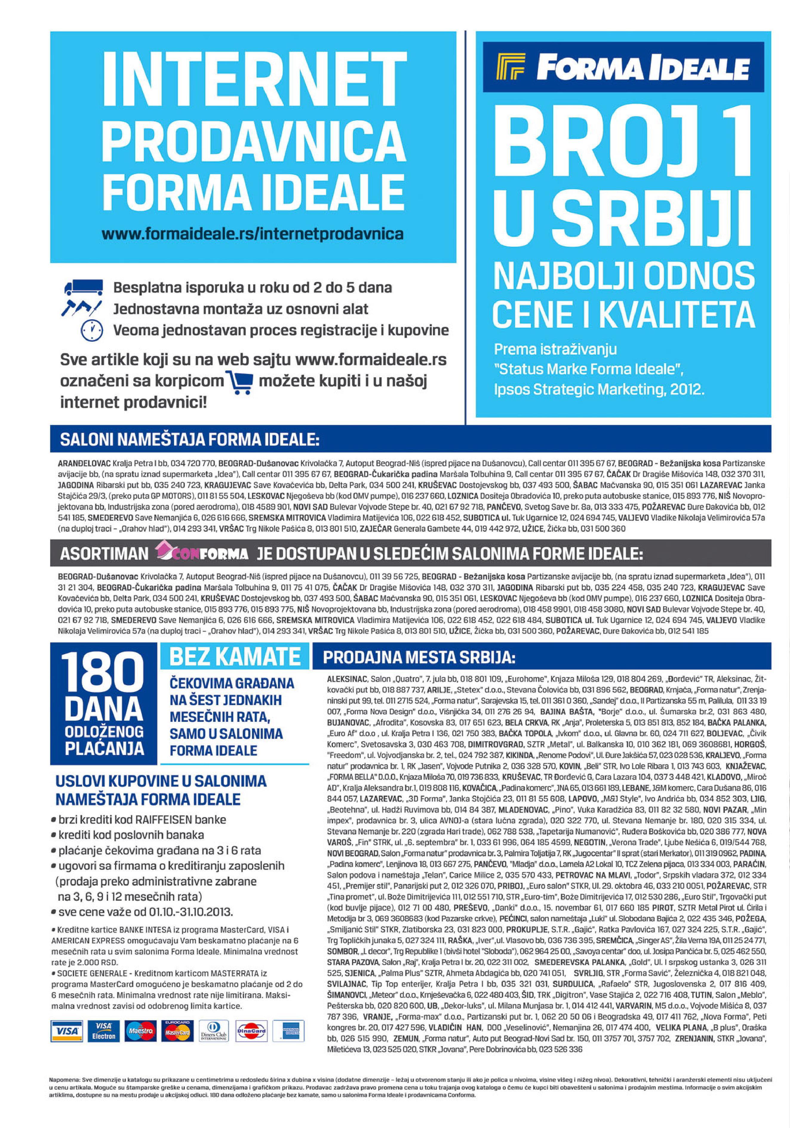Forma Ideale katalog super ponude