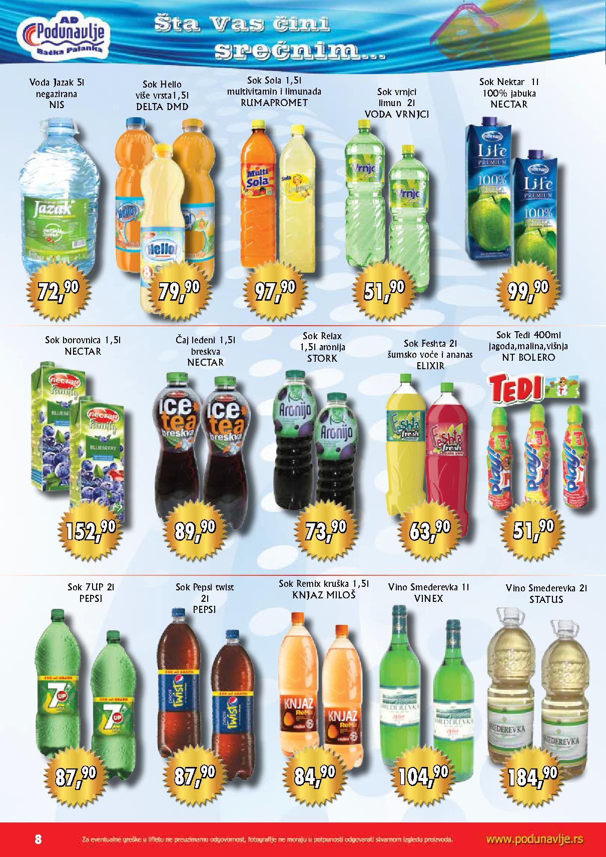 AD Podunavlje akcija odličnih cena