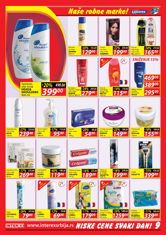 Interex katalog najpovoljnije kupovine