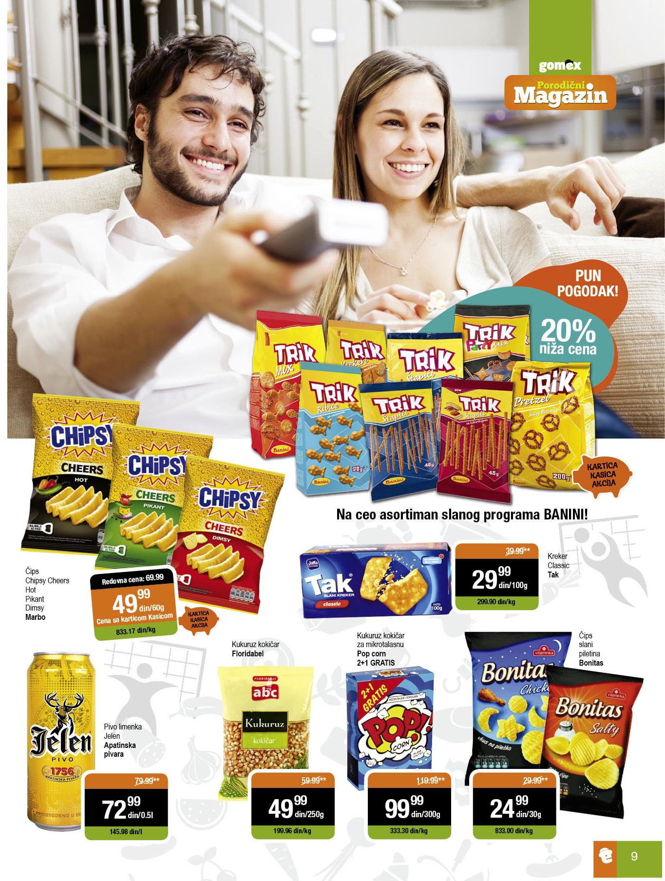 Gomex akcija mesto porodične kupovine