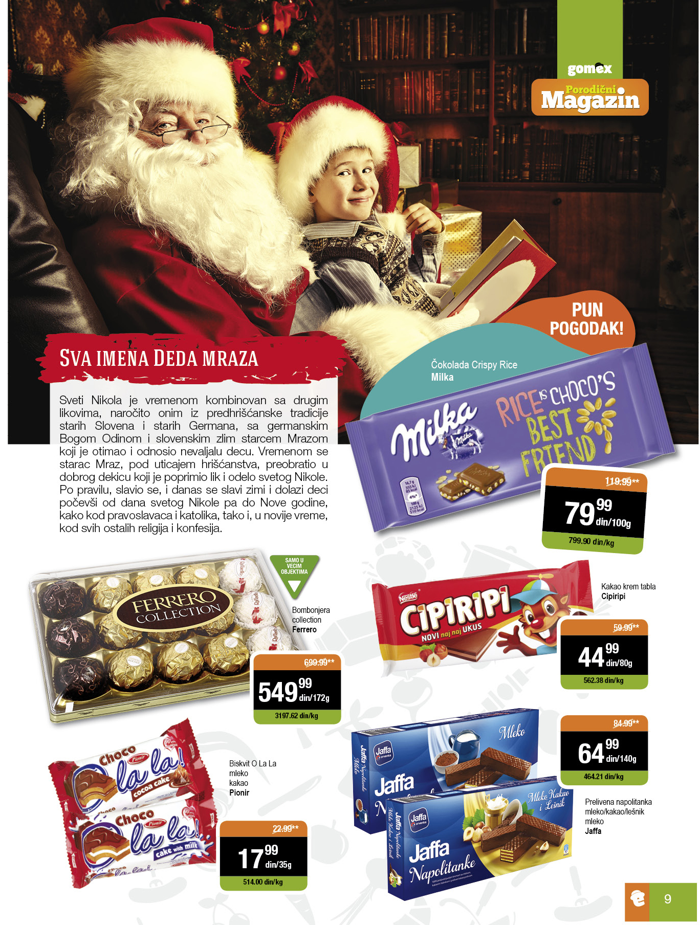 Gomex akcija sjajne decembarske ponude