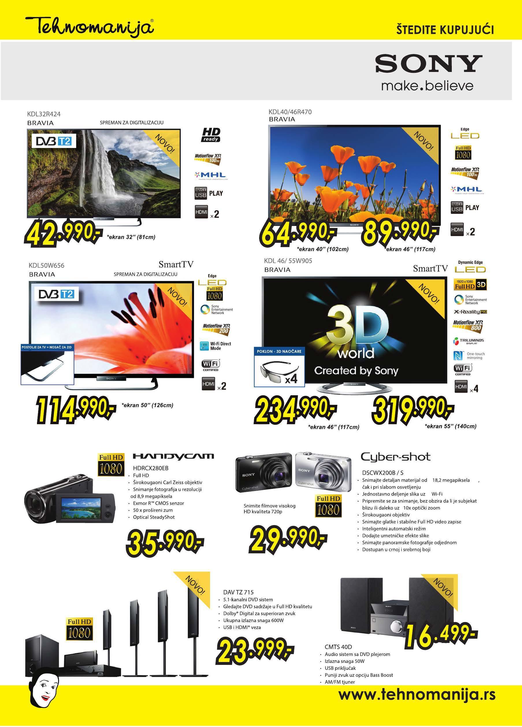 Tehnoamnija katalog odlična ponuda TV,A/V, FOTO