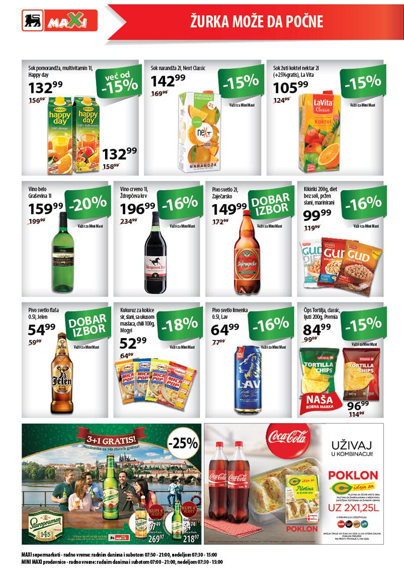 Maxi akcija sjajnih cena