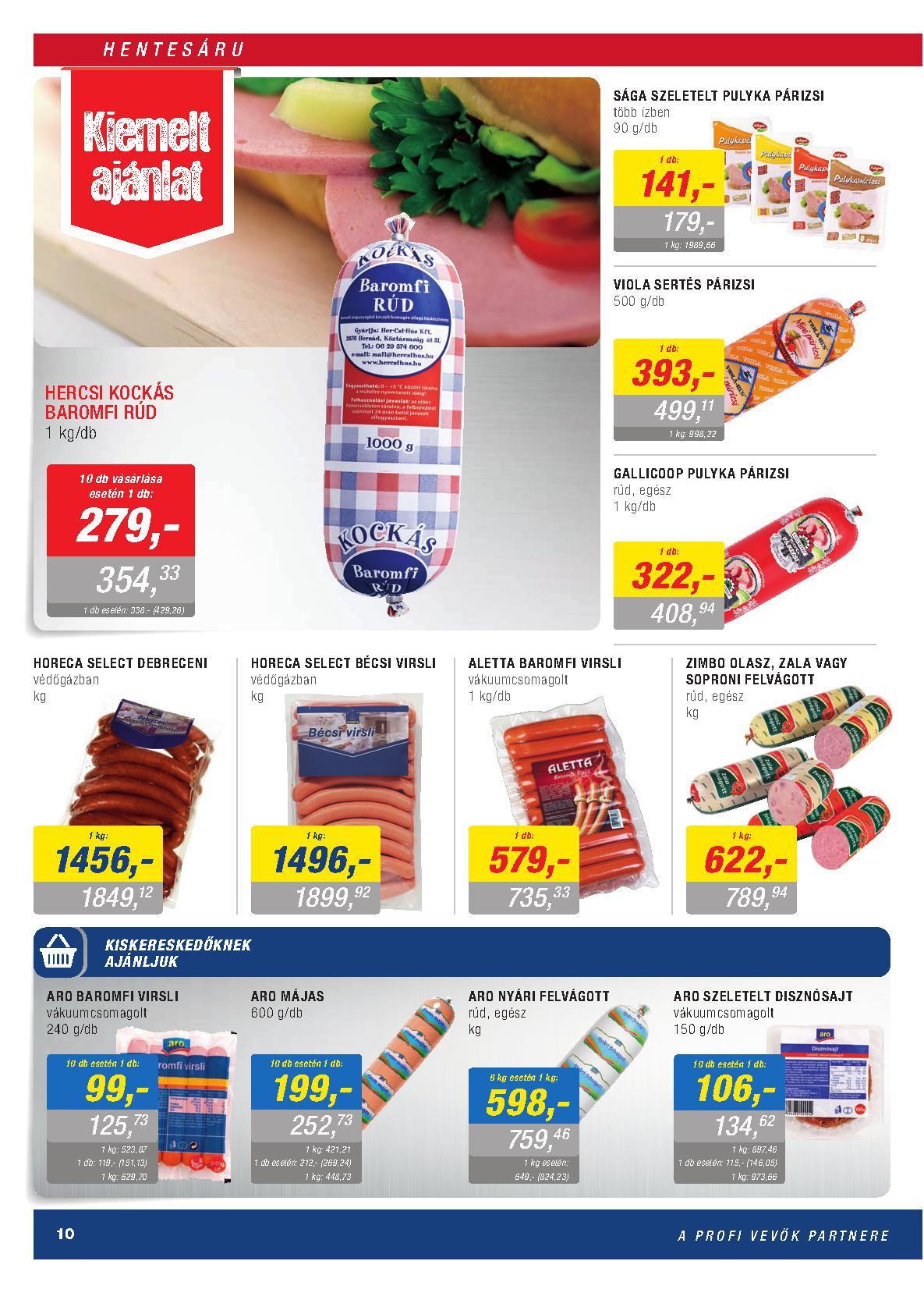 Metro Mađarska akcija prehrana po super ceni