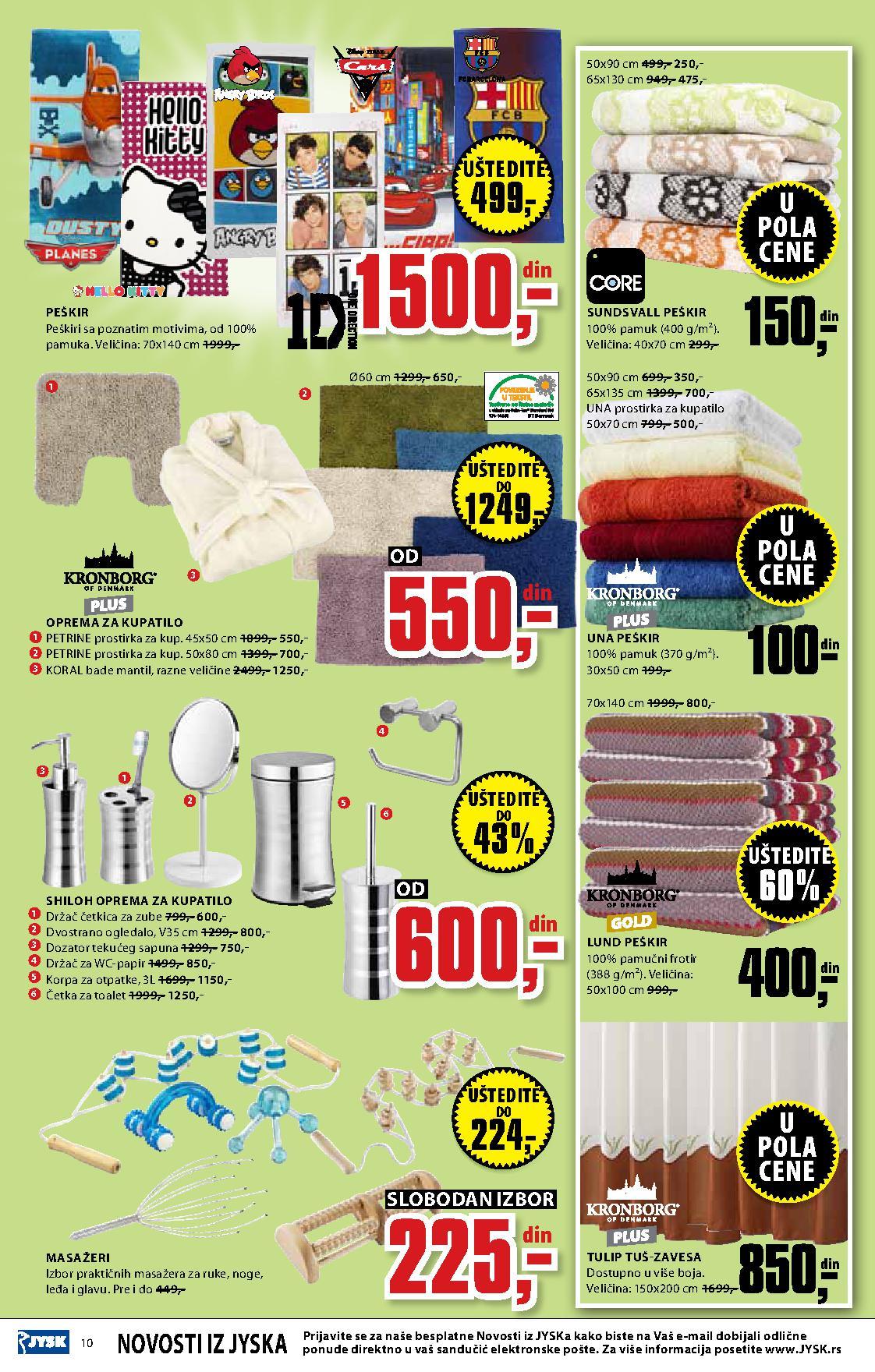 JYSK katalog najbolje za vaš dom