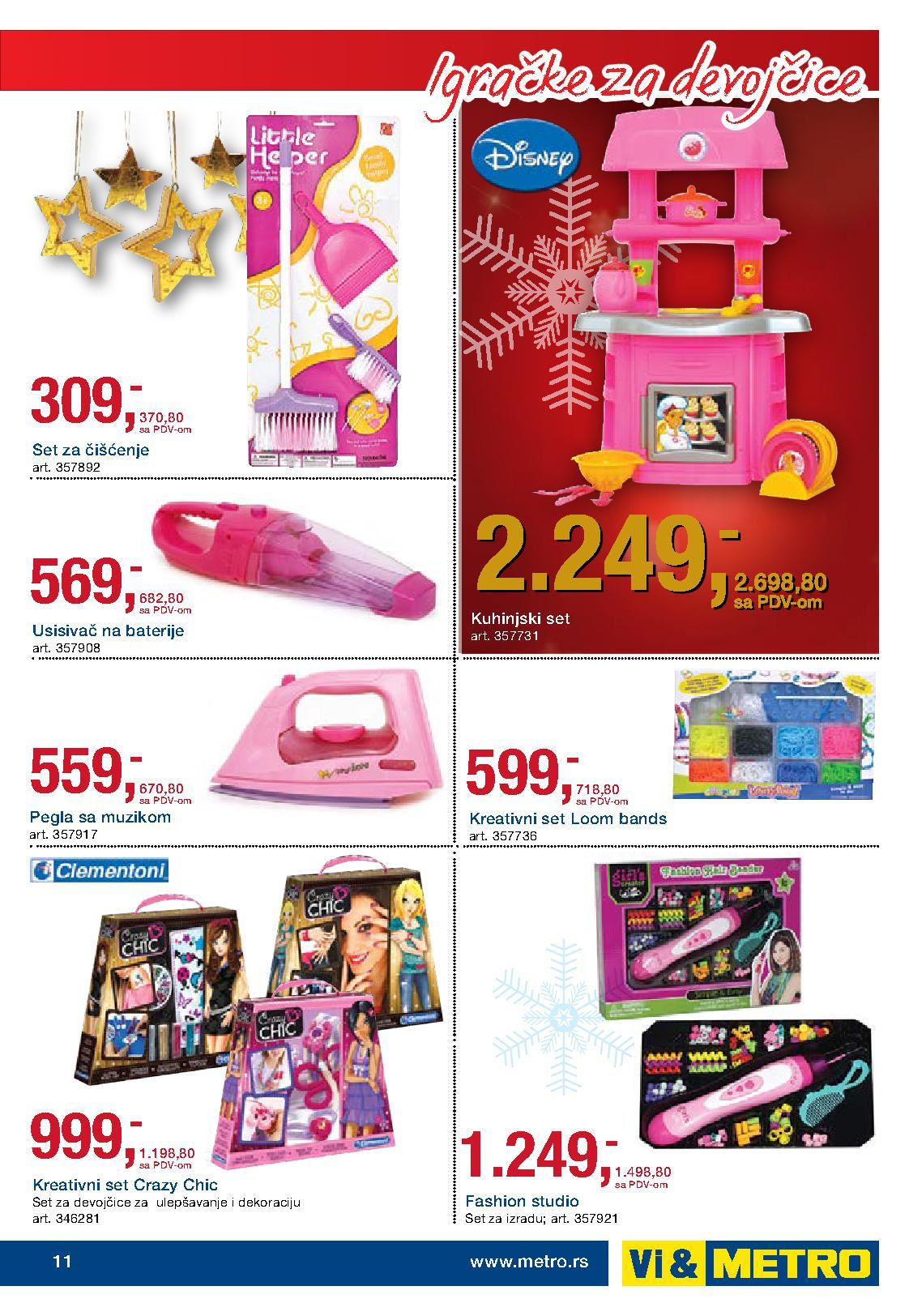 Metro akcija igračke za vaše mališane