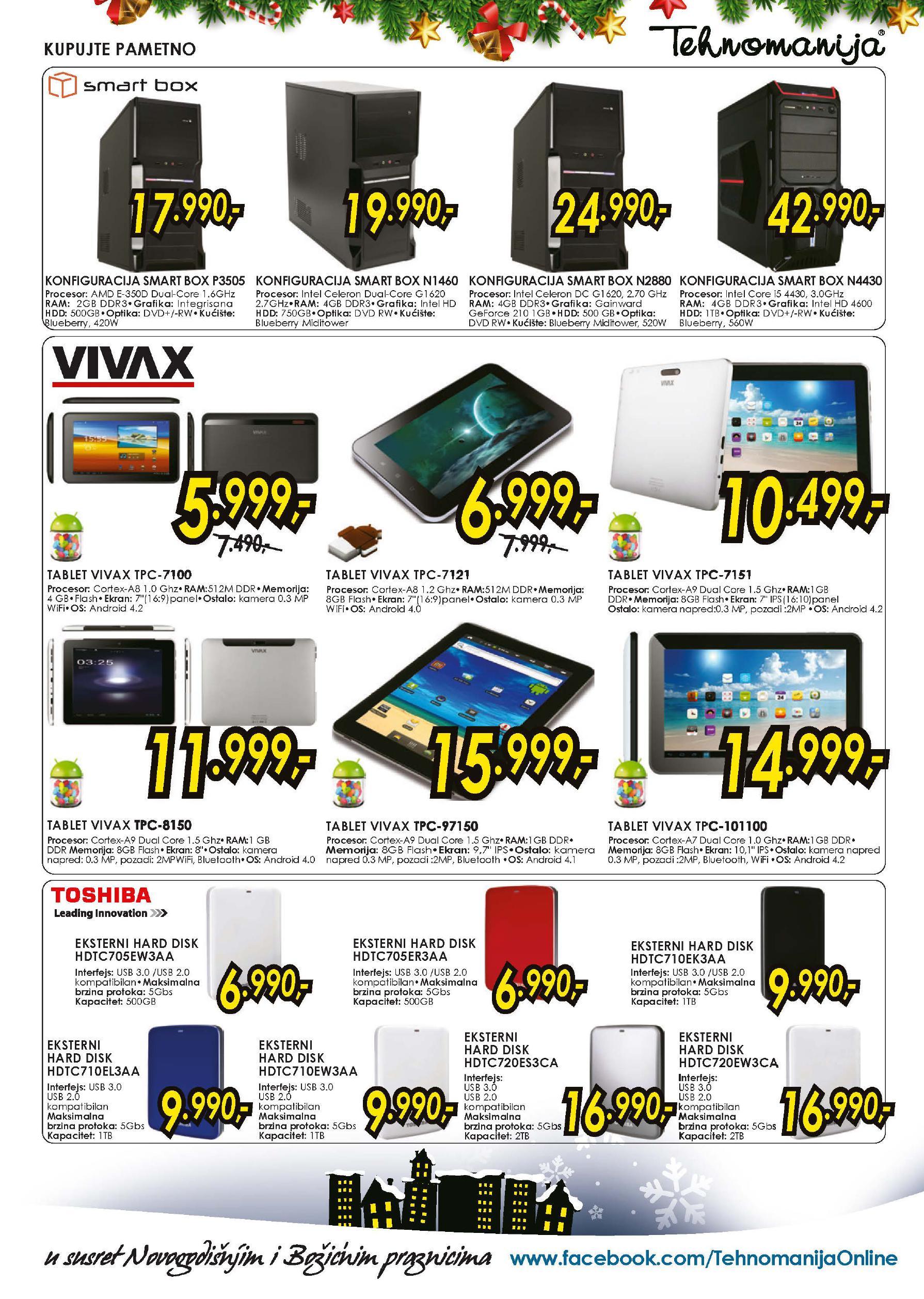 Tehnomanija katalog najpovoljnija ponuda IT opreme