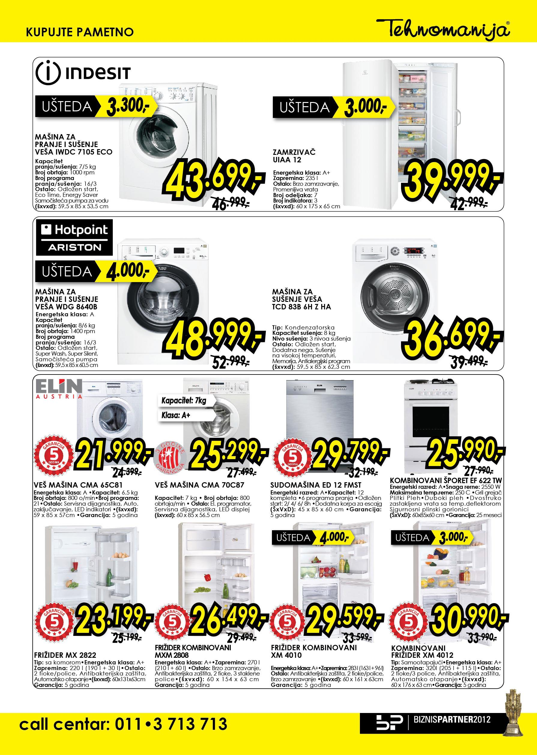 Tehnomanija katalog bela tehnika po super ceni