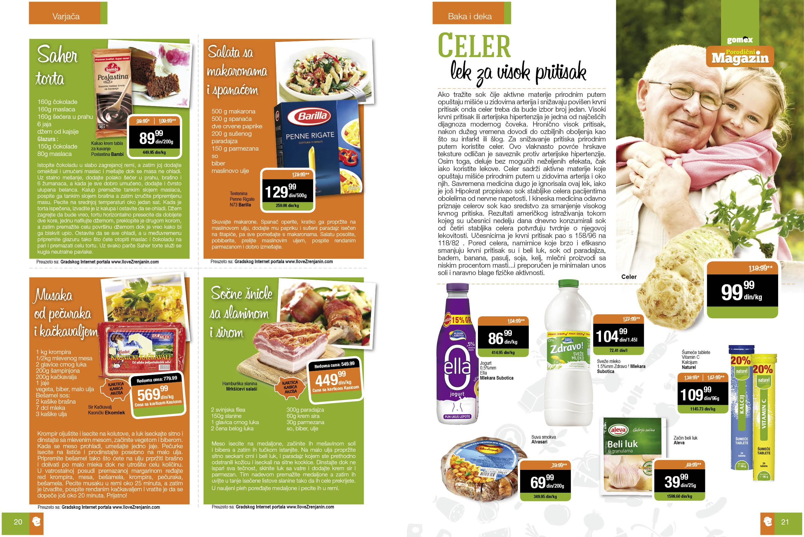 Gomex akcija porodični magazin
