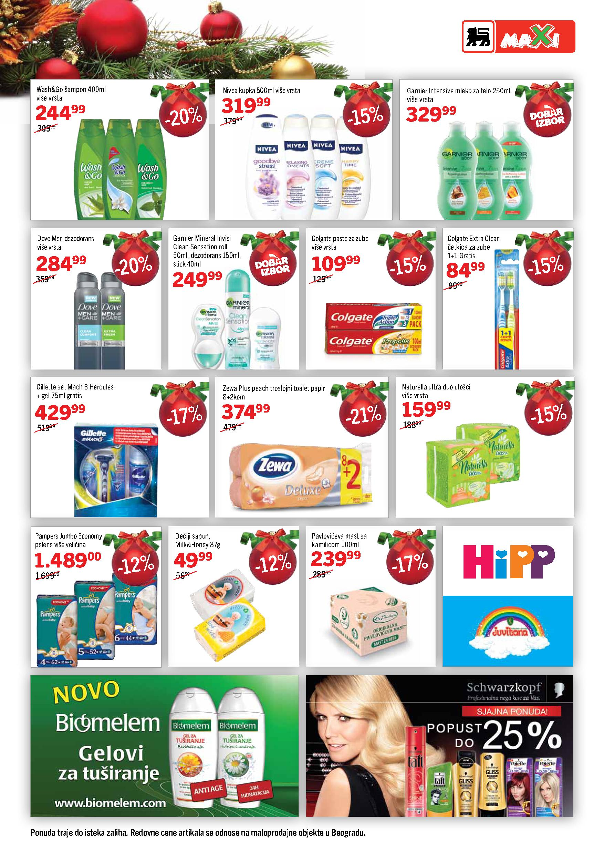 Maxi katalog novogodišnje ponude