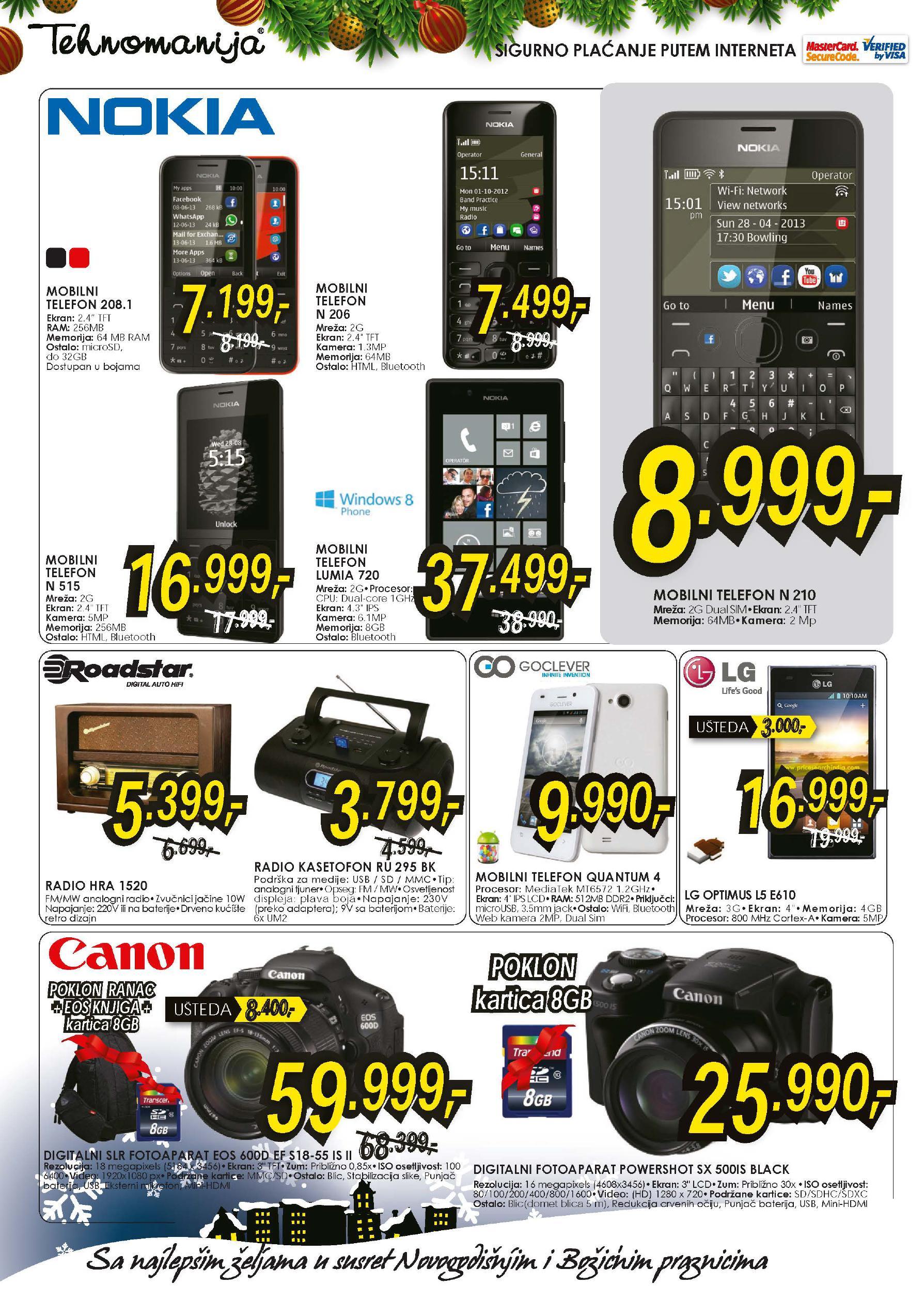 Tehnomanija katalog TV aparati po super ceni