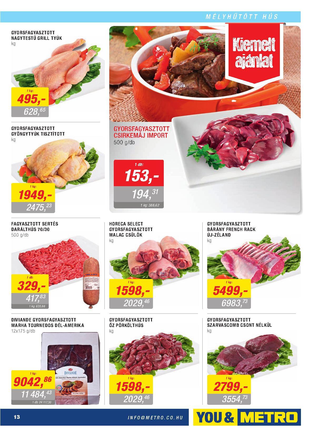 Metro Mađarska akcija odlična ponuda prehrane