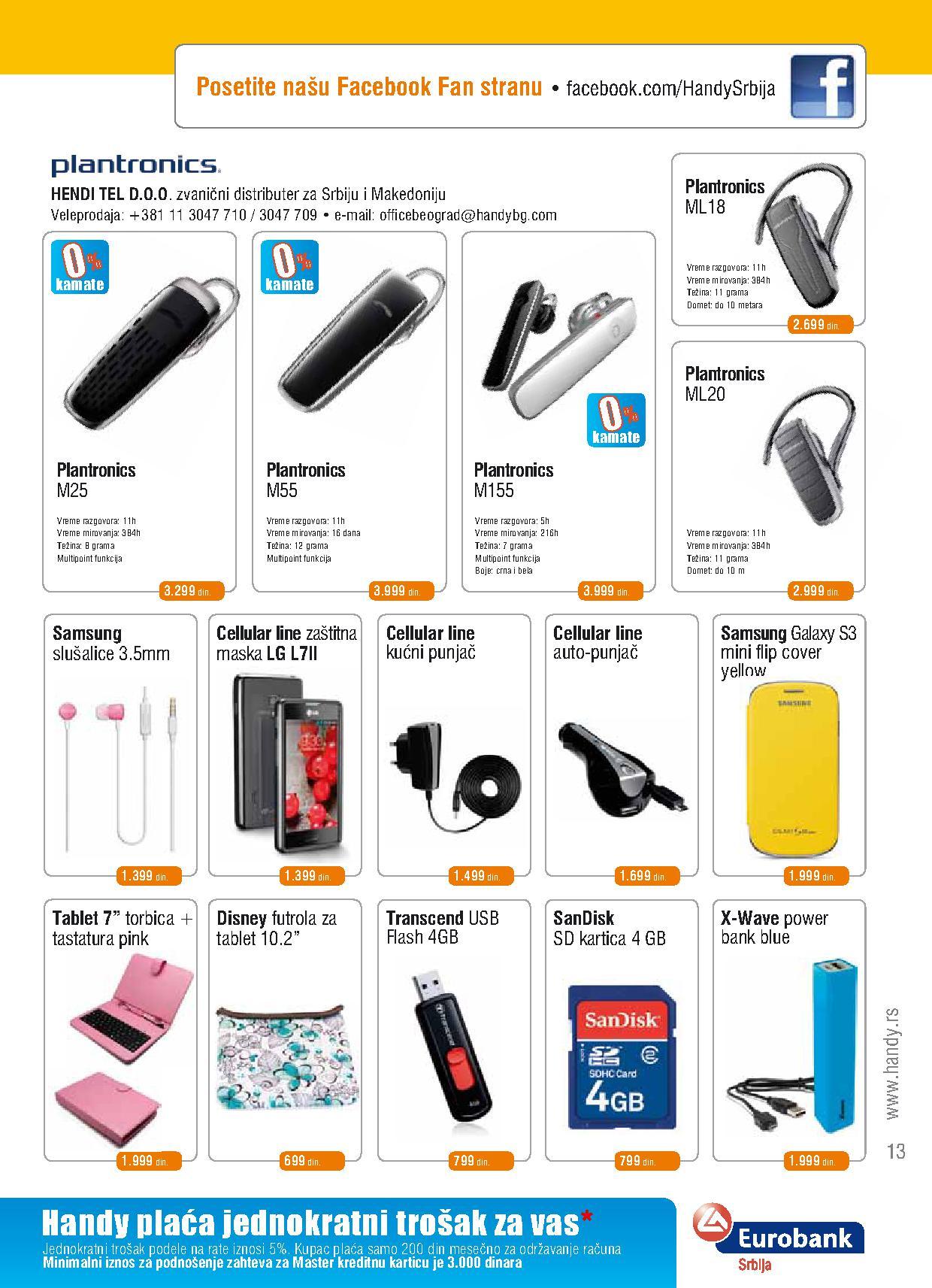 Handy katalog super ponuda ovog meseca