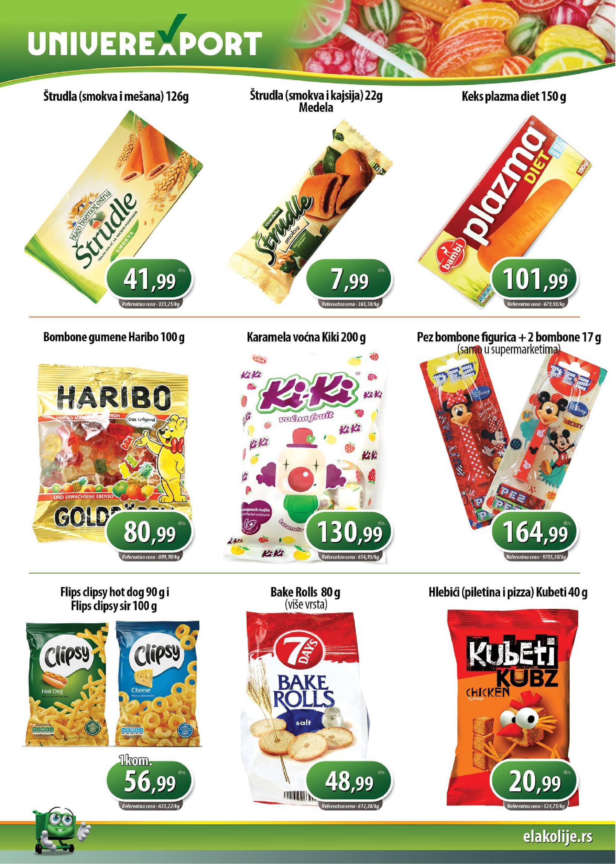 Univerexport akcija mesec odličnih cena