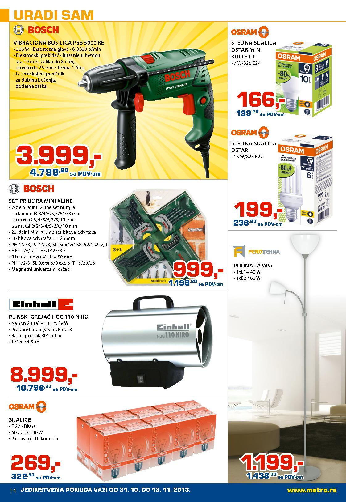 Metro katalog super cena neprehrane