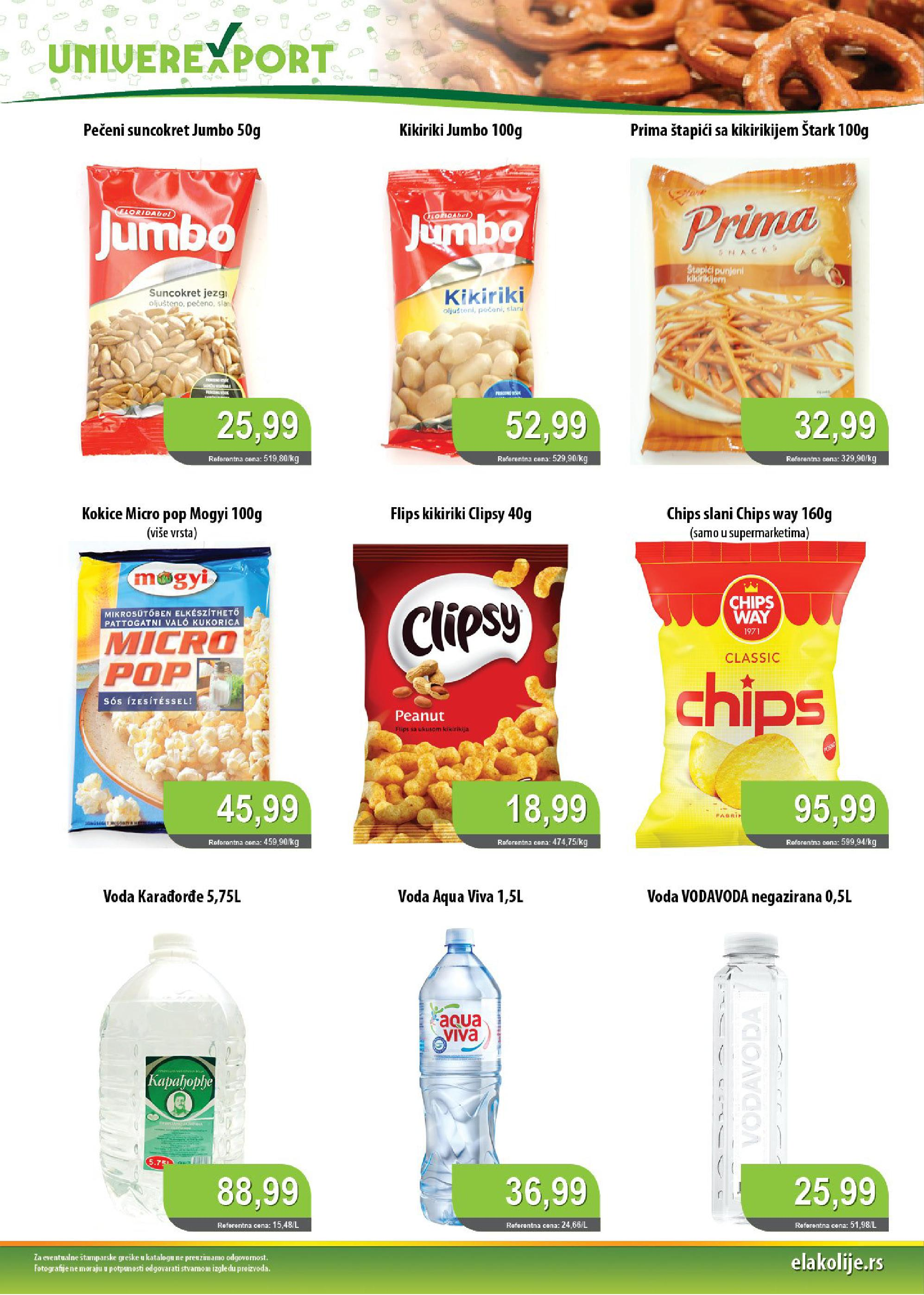Univerexport akcija prazničnih cena