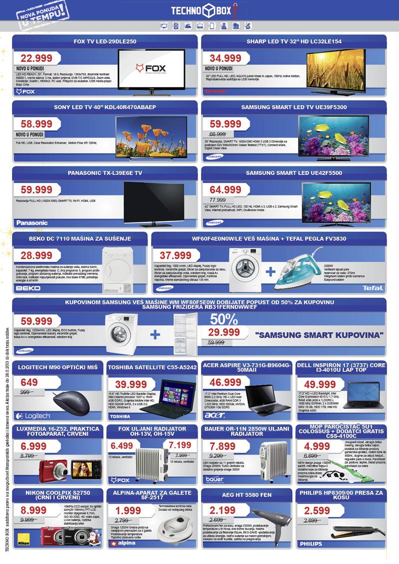 Tempo katalog novogodišnje ponude