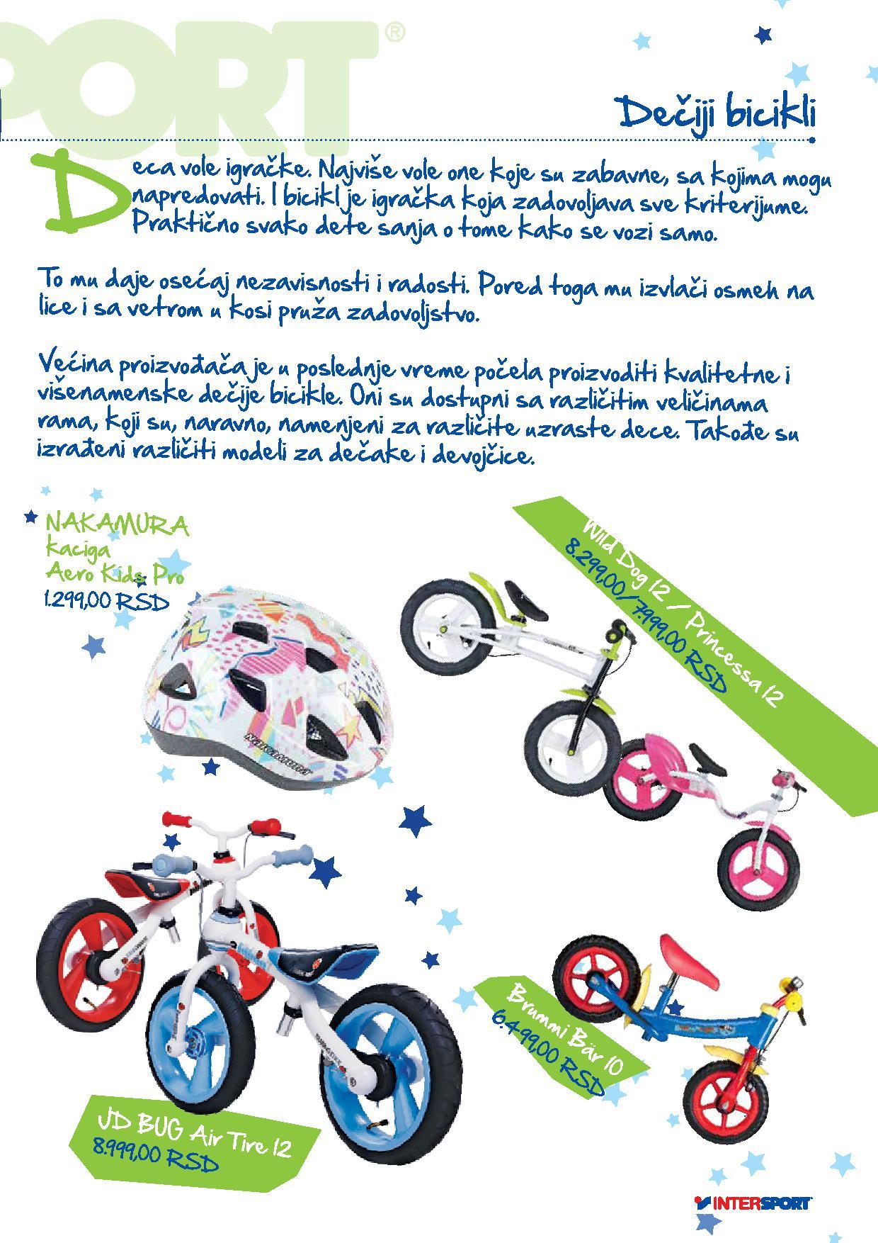 Intersport akcija sve za ljubitelje biciklizma