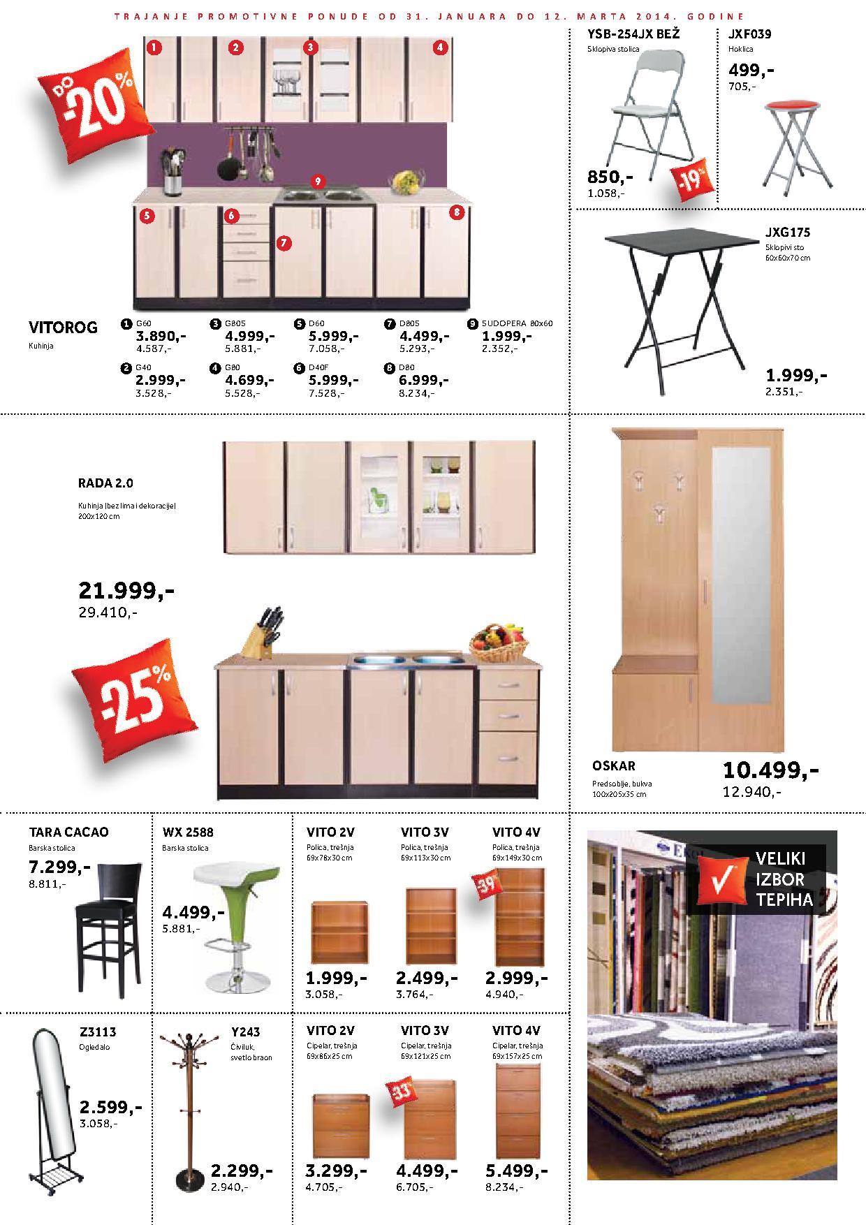 Vitorog katalog nameštaj za vaš dom