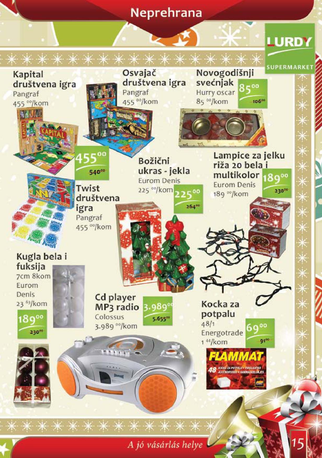 Lurdy katalog odlične kupovine
