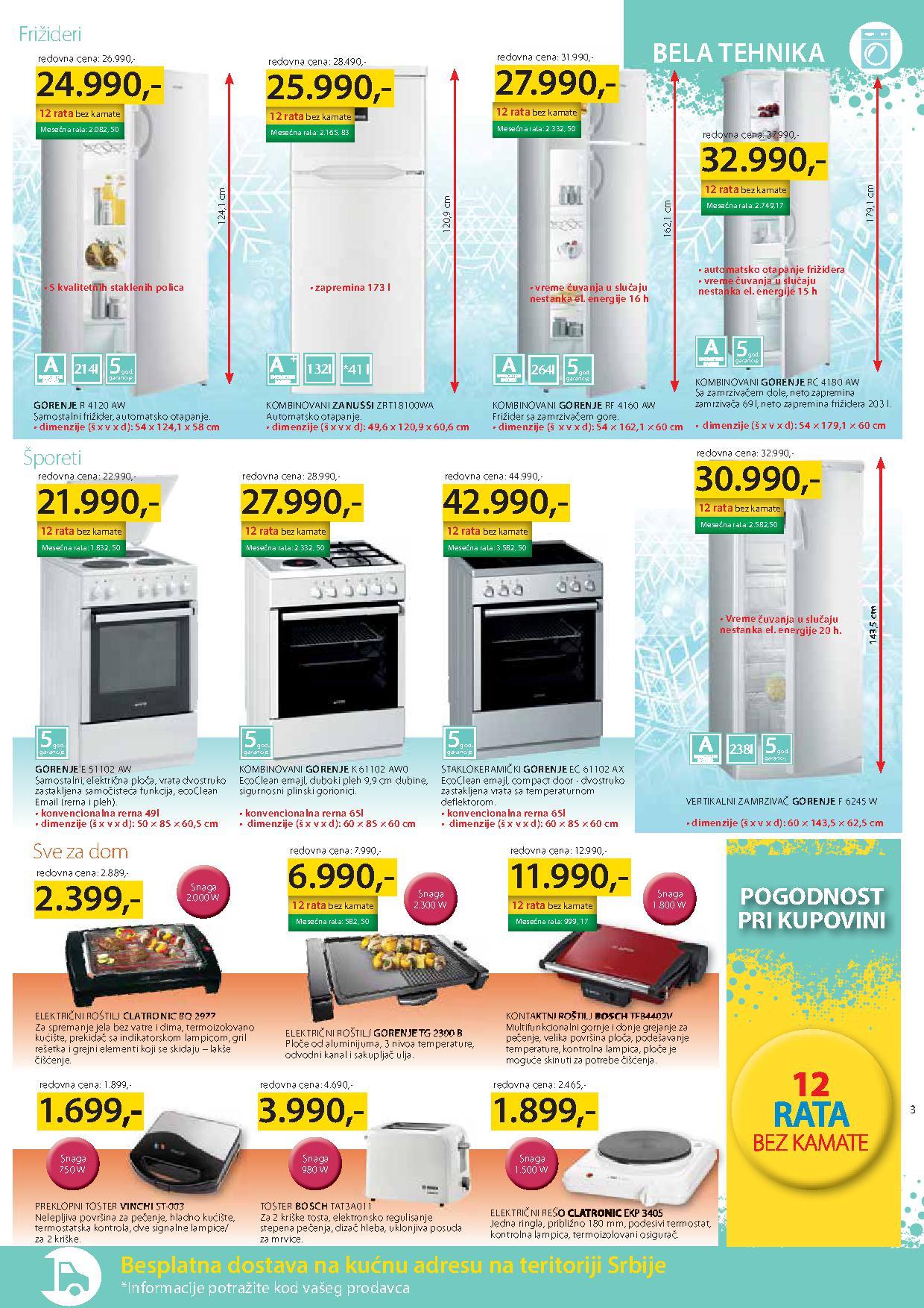 Merkur akcija sve za vaš dom po super ceni