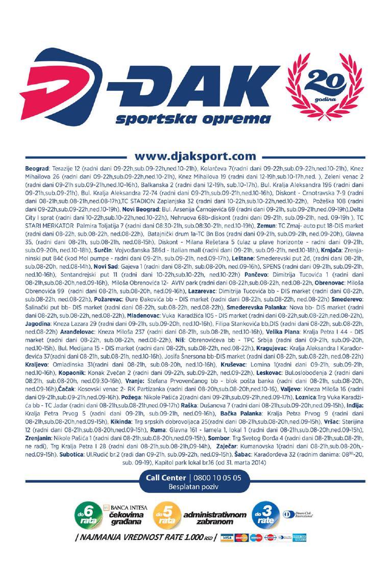 Djak sport akcije za vas