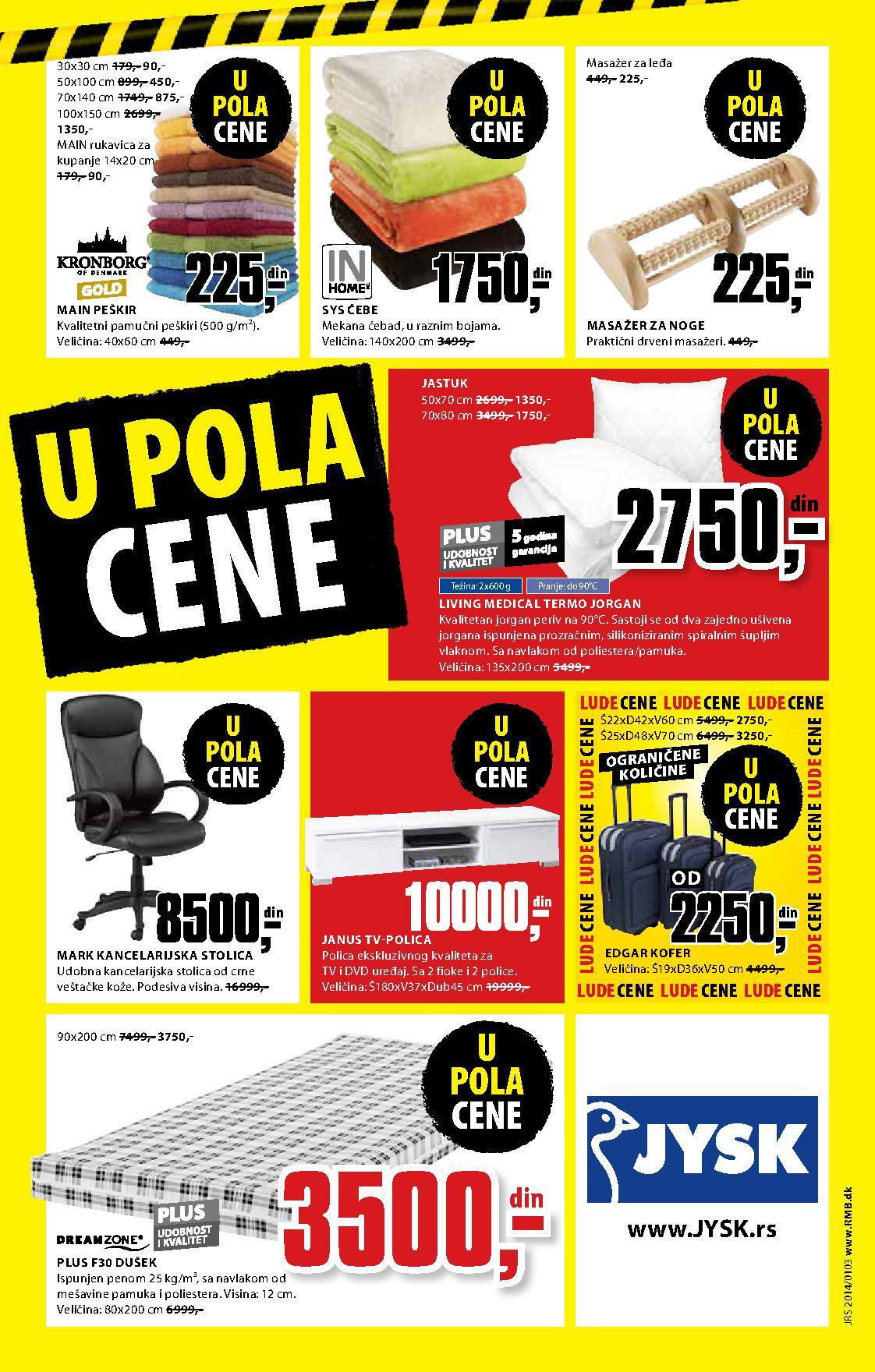 JYSK katalog super cena za vas