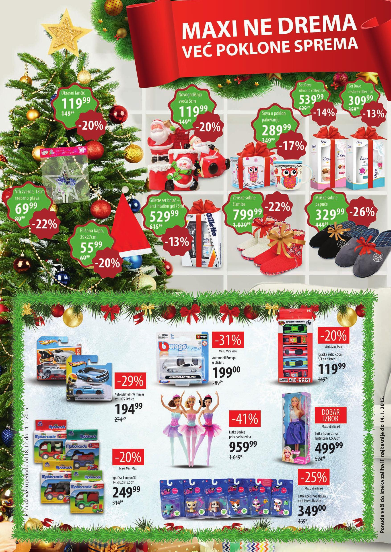 Maxi akcija novogodišnje kupovine