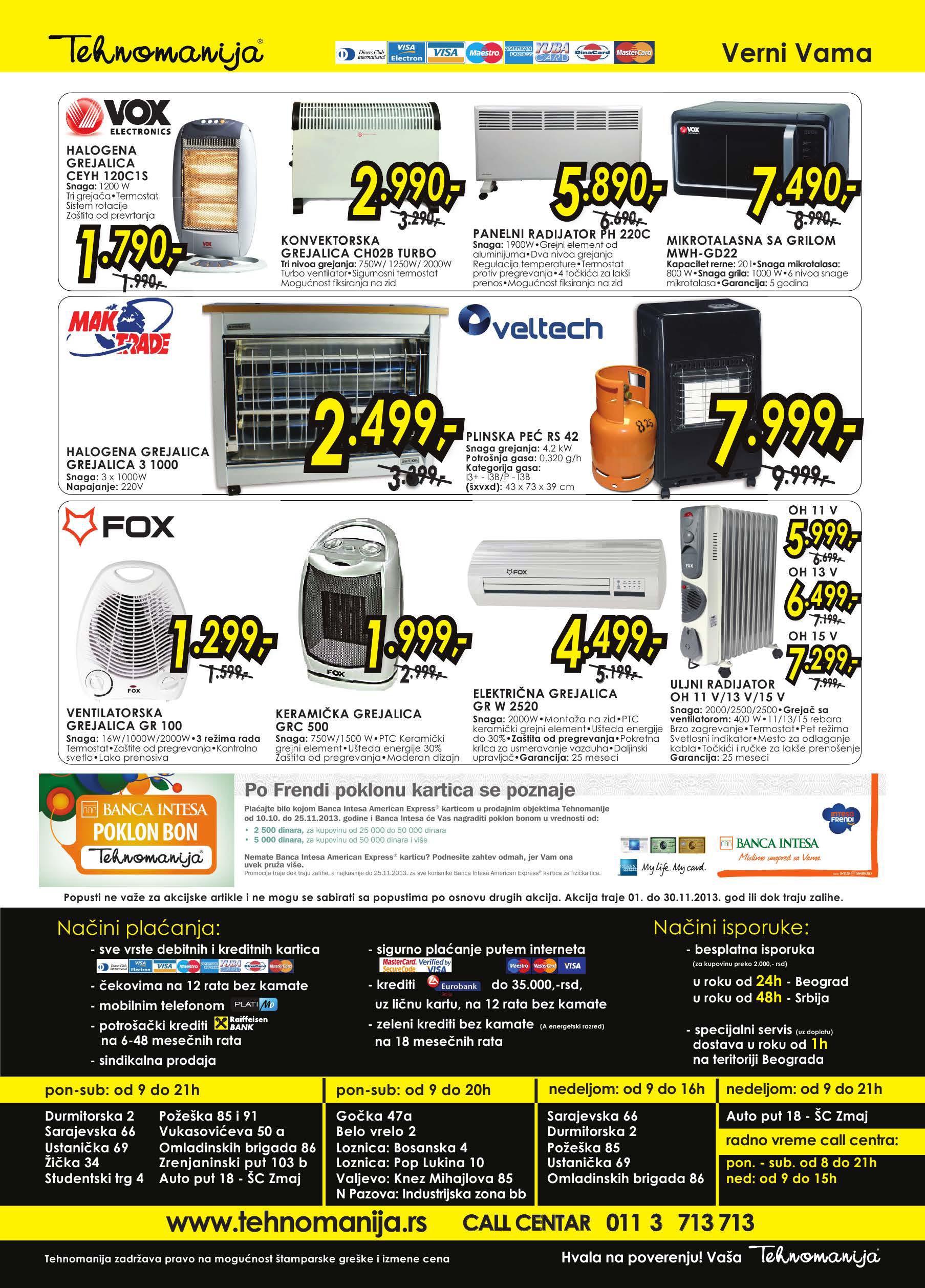 Tehnomanija katalog mali kućni aparati po super ceni