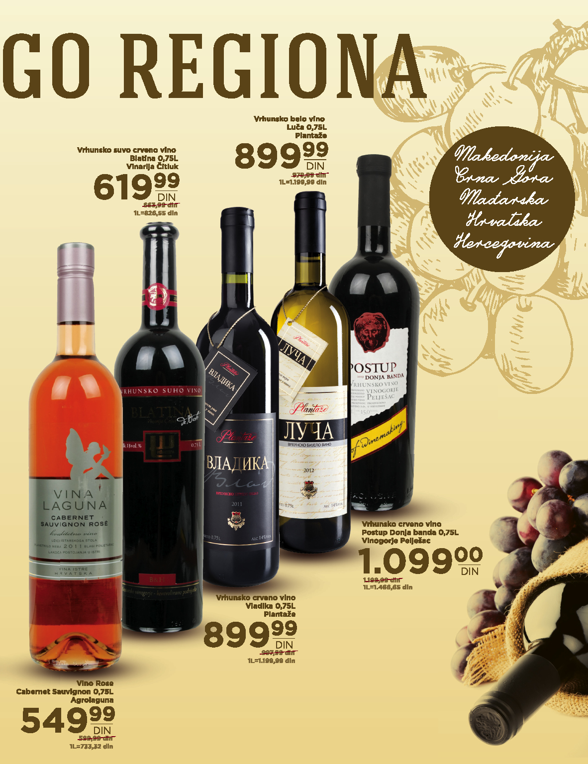 Idea akcija super ponuda vina