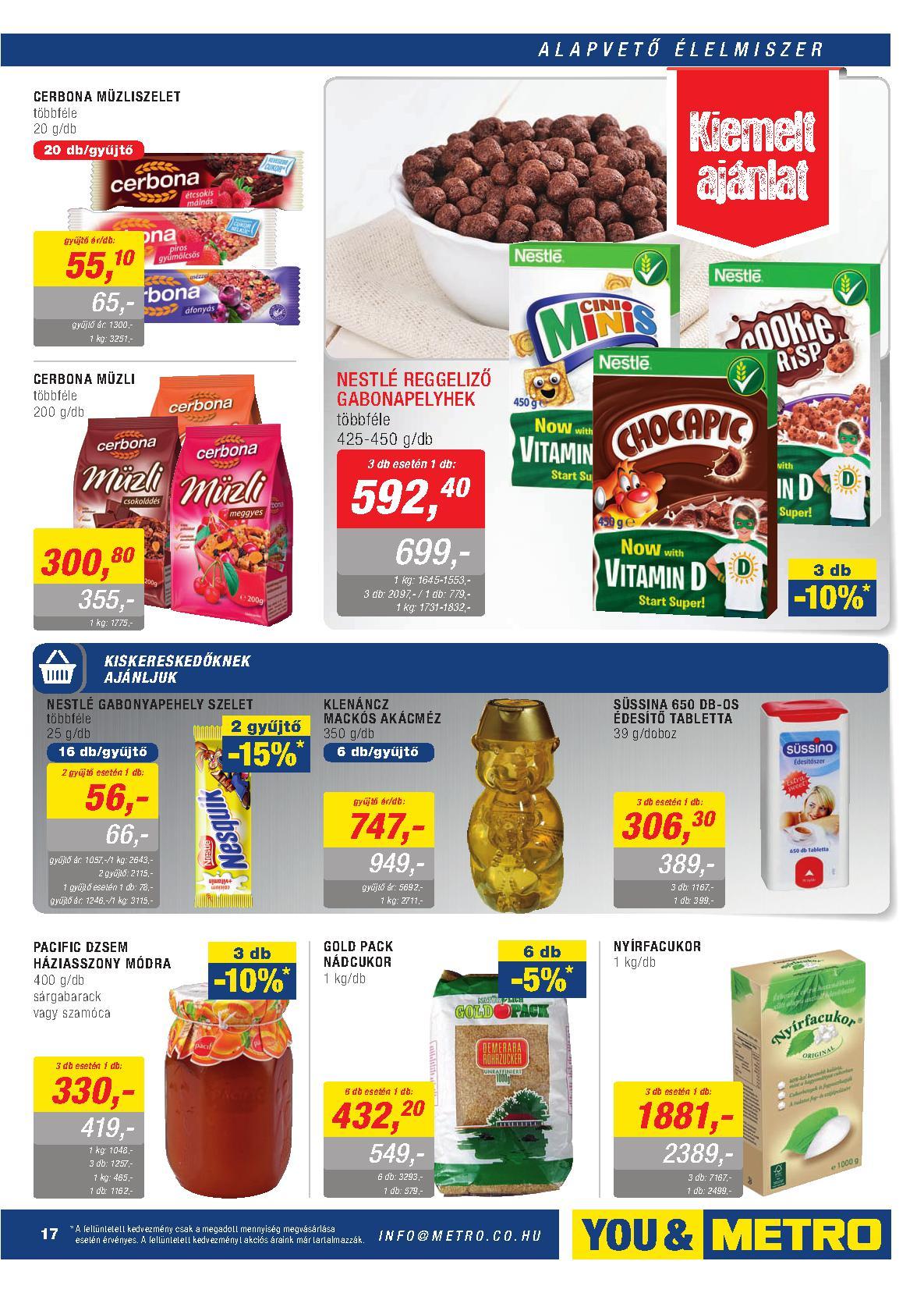Metro Mađarska akcija praznična ponuda prehrane