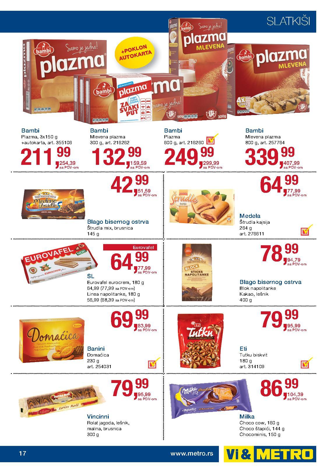 Metro akcija prehrana po super ceni za vas