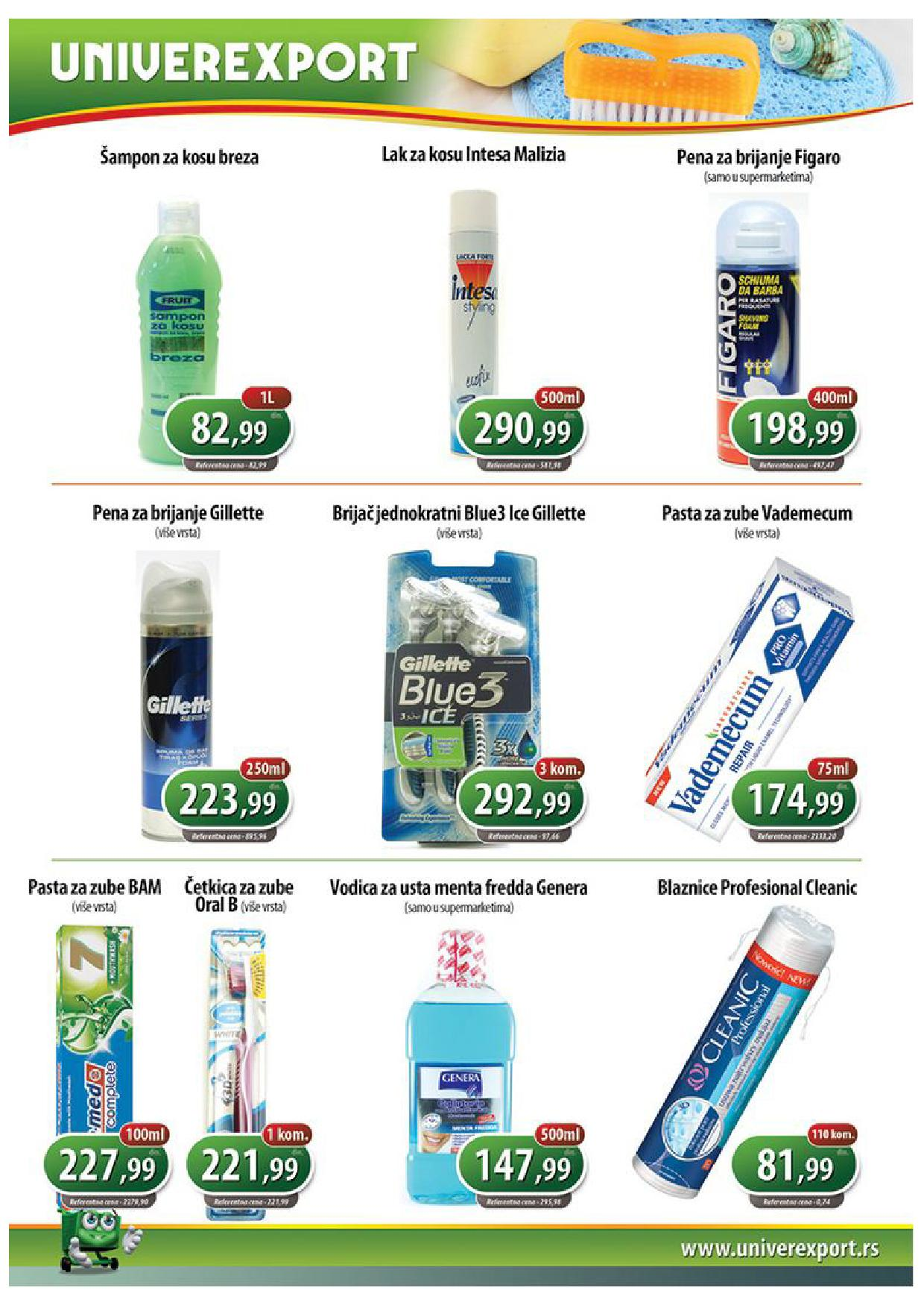 Univerexport katalog super cena za vas