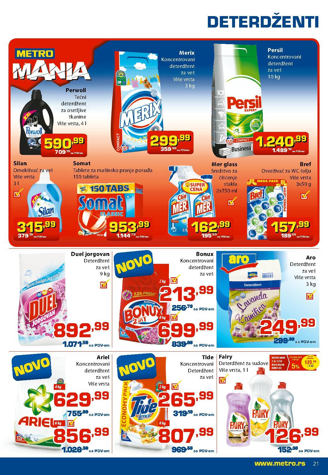 Metro katalog prehrana za vas po super ceni