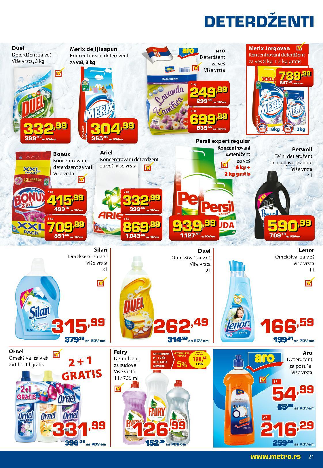 Metro katalog super cena prehrane za vas