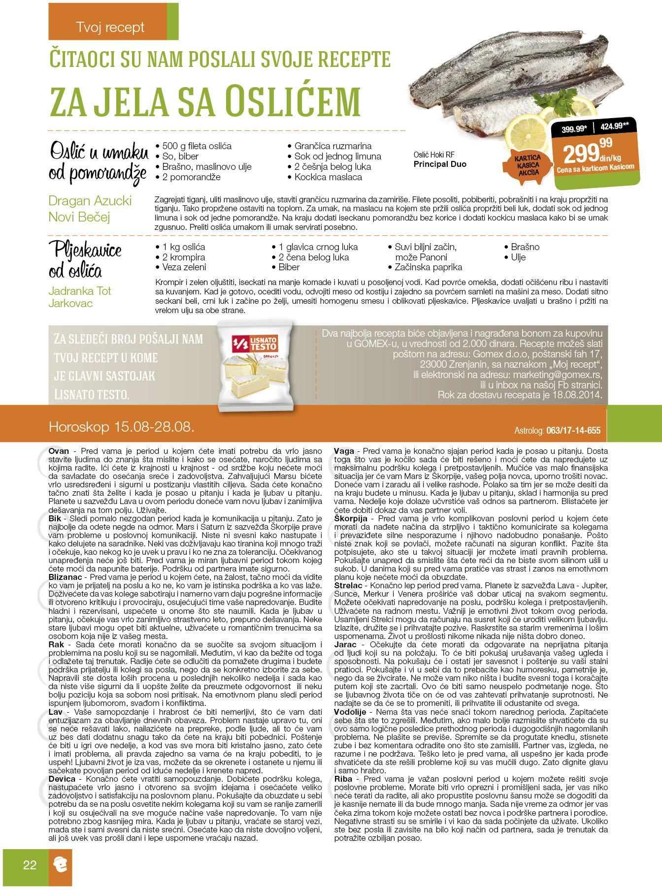 Gomex akcija prodični magazin super cena